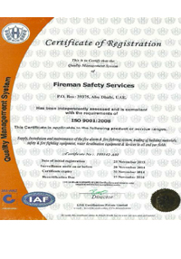 Certificates - Fireman Safety Services